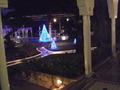 ホテルマハイナウェルネスリゾートオキナワ、夜のお庭