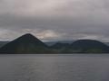 洞爺 湖畔亭から見える洞爺湖