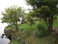 丸駒温泉旅館のお庭