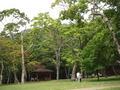 丸駒温泉旅館周辺の湖畔