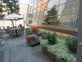 東武ホテルの中庭