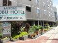 東武ホテルの外観