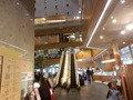 東京ドームホテル 札幌 1階から2階に続くエスカレーター