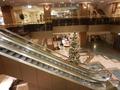 ホテル1階ロビーのクリスマスツリー