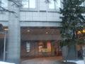 ホテルモントレエーデルホフ札幌の正面タクシー乗り場