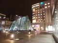 札幌駅前の様子