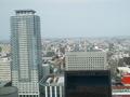 JRタワーホテル日航札幌 スパラウンジから見渡す景色