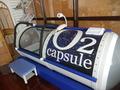JRタワーホテル日航札幌 スカイスパの酸素カプセル