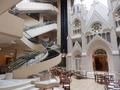シェラトンホテル札幌 チャペル横のラセン階段