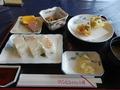 マリンヒルホテル小樽の昼食