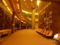 新富良野プリンスホテル地下一階の展示コーナー