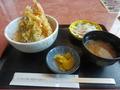 「海」の天ぷら丼