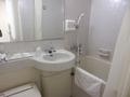 洗面所と浴室の様子