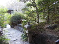 磨洞温泉 涼風荘の庭園