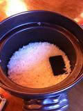 お鍋で炊いたご飯