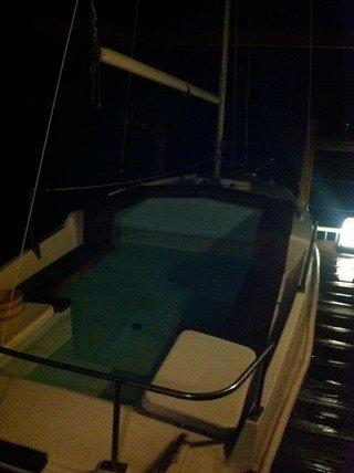 屋上にヨットが!露天風呂「波切の湯」
