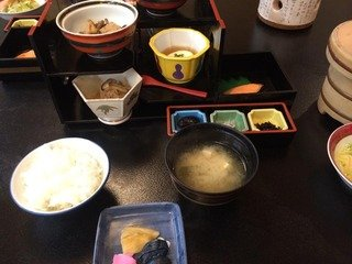 朝食(小鉢など)