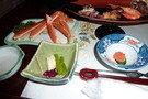 蟹や酒の肴