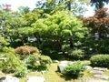 近隣観光 芭蕉の館の庭