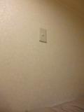 上段ベッド用照明スイッチ