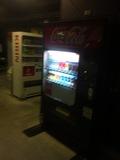 駐車場ドリンク自販機