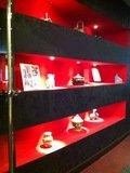 「中国料理 香虎」入口ディスプレイ