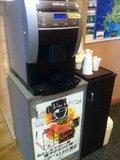 ロビーのコーヒーマシン