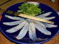 日間賀島特産の蛸のしゃぶしゃぶ