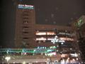 豊田市駅前のホワイトクリスマス