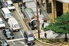 名古屋駅前交差点を見下ろす優雅な気分