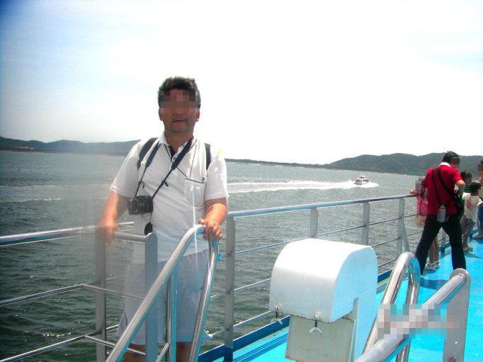 カーフェリーでホテルのある伊良湖岬へ