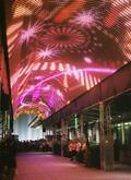 マリオットのセントラルタワーズは光に彩られて・・・