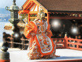 運がよければ厳島神社の舞楽を堪能できます