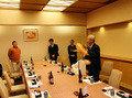 ホテル6階での祝賀会