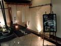 純西欧風ホテルの中の純和風料理店