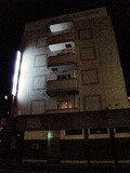 夜のステーションホテル