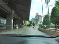 広小路通りからホテル横車路へ