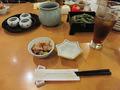 和食処「祭」の最初のメニュー