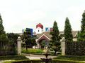 玄関先から見た三河安城駅