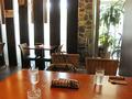 フロントロビーと直結したレストラン
