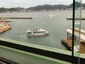 関門海峡が手に取るように見えます