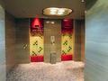 地階のエレベーターホール