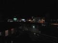 夜11時間近の鳥羽駅前