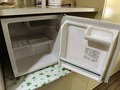 冷蔵庫はフリースペース(チェックイン時は電源OFF)