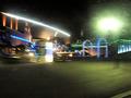 隣接する海響館の夜