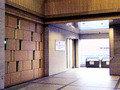 ボストン美術館1階からの連絡路