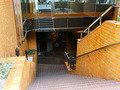 プリンセスタウン地階への階段