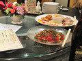 中国菜館「桃の花」の前菜とカルパッチョ