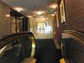 西玄関から2階・フロントロビーへ