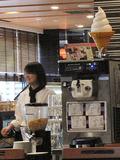 プラス300円でソフトクリーム&ドリンクバー